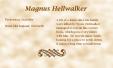 Magnus Hellwalker biography