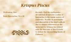Krispus Piscus biography