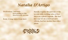 Natalia D'Artigo biography