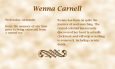 Wenna Carnell biography