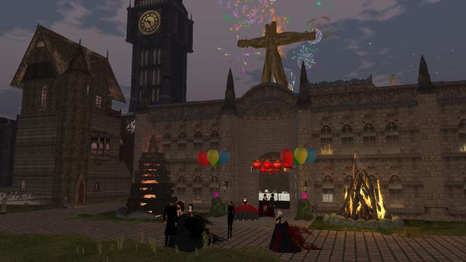 Invitation To A Bonfire Night Masquerade