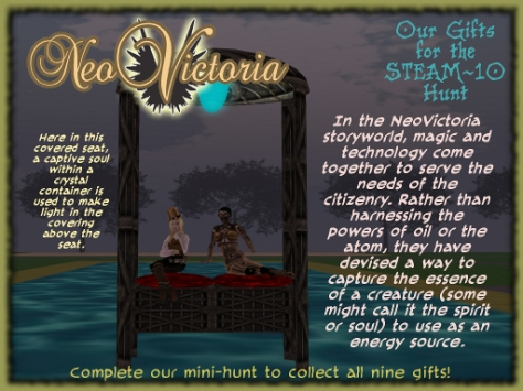 NeoVictoria Gifts for Steam 10: Seat