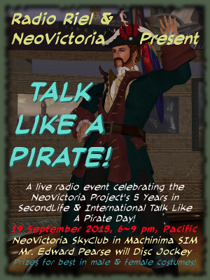 Talk Like a Pirate 2015