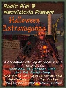 NeoVictoria's Halloween 2015 Party