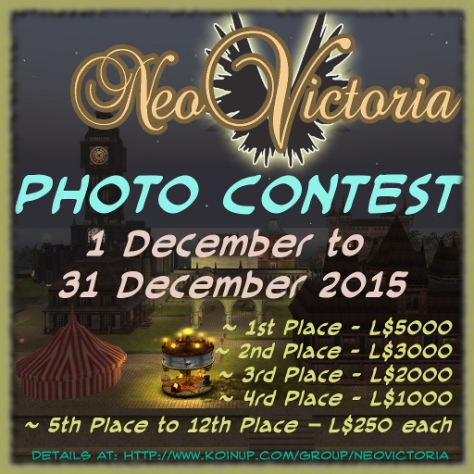 NeoVictoria's 2015 Photo Contest