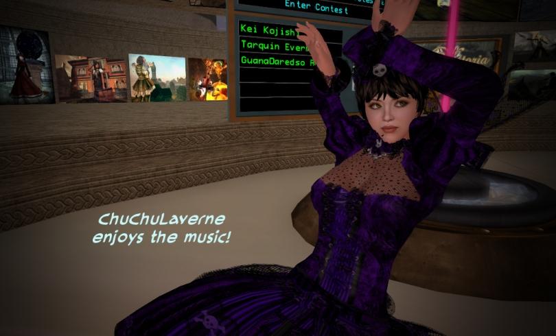 ChuChuLaverne dancing