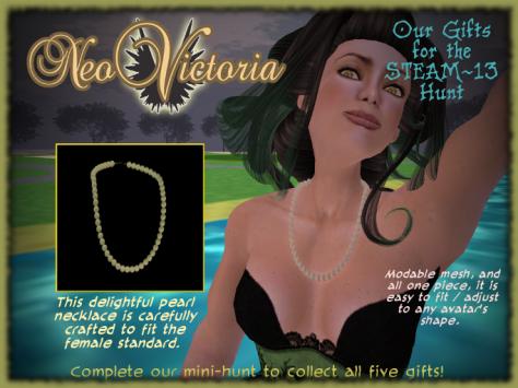 Steam 13 Necklace
